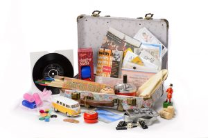 Memory Boxes - Rummage Baskets - Suitcases