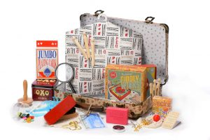 Around 1950s Memory Suitcase