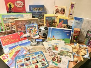 Activities: Packs - Games - Books - Jigsaws