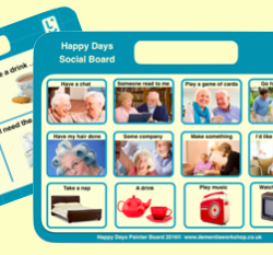 Happy Days Communication Board©