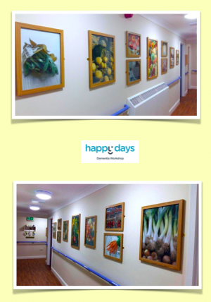 Wall Art: Care Homes - Hospitals - Cafes