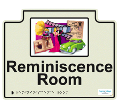 Happy Days Reminiscence Room Sign