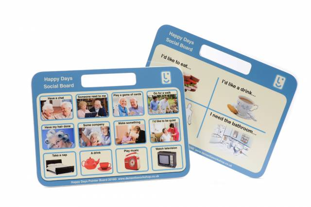 Memory & Chat Prompts Communication Boards Memorabilia Postcards