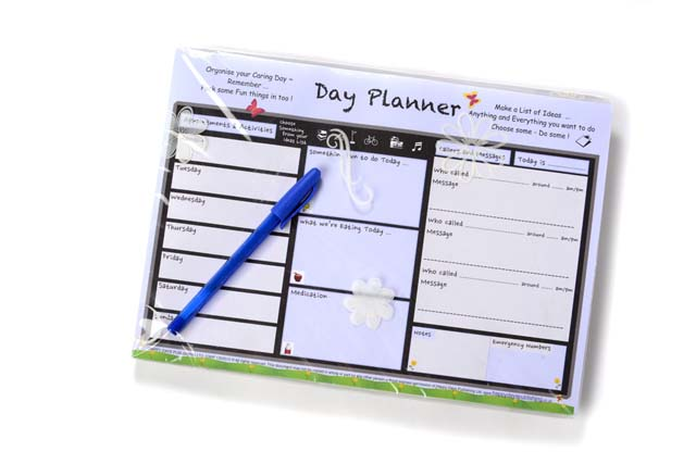Day Planner  Organiser  Dementia Workshop