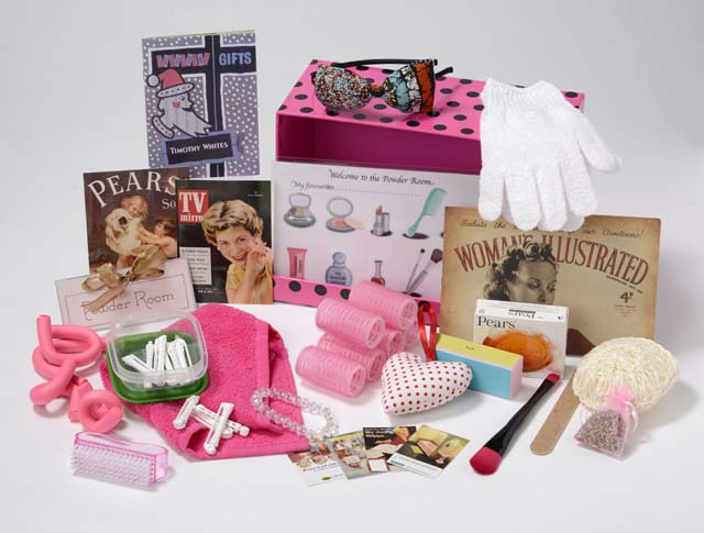 Powder Room Memory Box