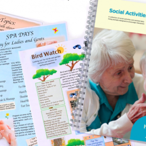 Activity & Engagement Manuals for Care & Dementia Homes & Services