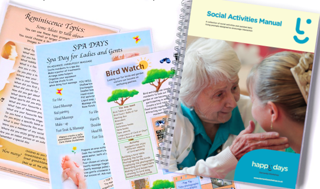 Activity & Engagement Manuals for Care & Dementia Homes - Care Services - Cafes