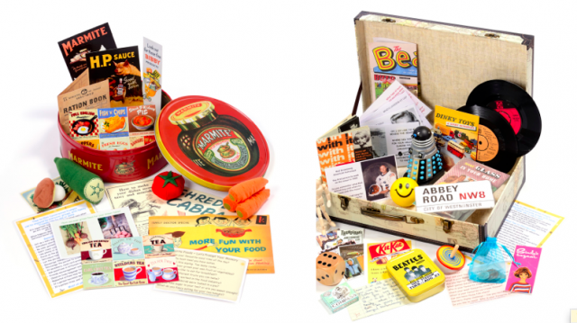 Reminiscence & Rummage Suitcases Boxes Baskets