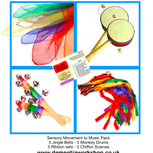 Sensory Materials Movement to Music Resources for Young People
