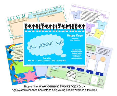 All About Me - Early Intervention Response Booklets