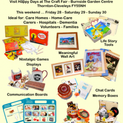 Visit Happy Days Dementia Workshop at Burnside Garden Centre FY55NH